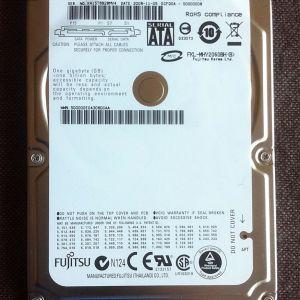 Laptop disk FUJITSU 60GB