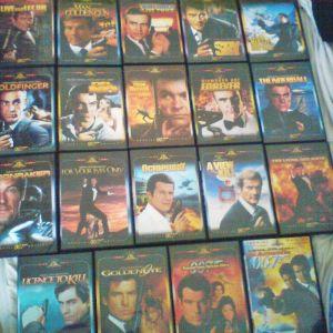 Συλλογή ταινίες James Bond