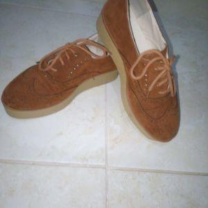 παπούτσια τύπου oxford,καφέ no 36
