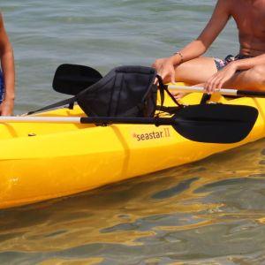 Kanoe kayak Sea star 3 ατόμων