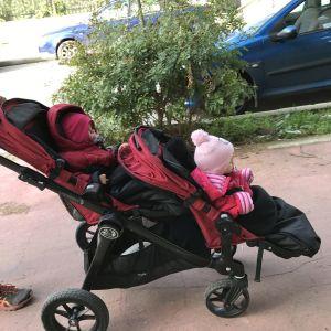 Πωλείται καρότσι διδυμων Baby Jogger City Select