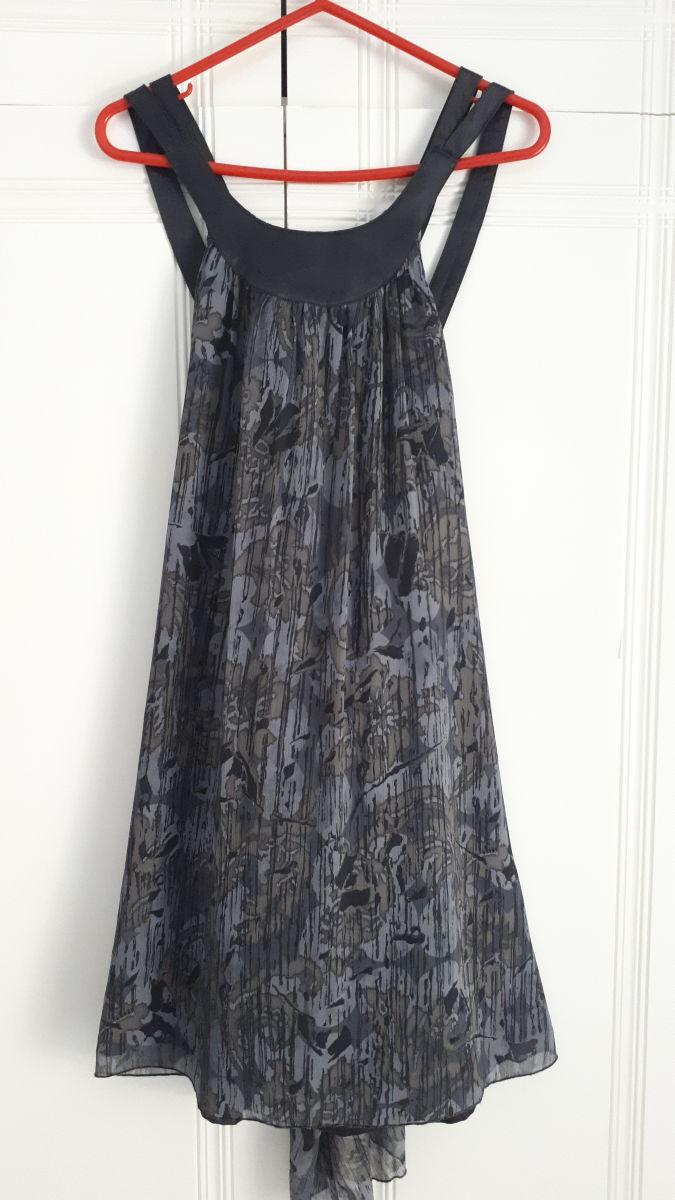 2e2bf3fff61e Μαύρο Γκρι Φόρεμα Attrativo με σχέδια - αγγελίες σε Βούλα - Vendora.gr