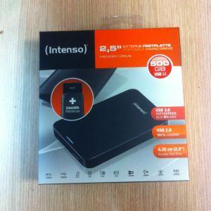 "Intenso Memory Case 2.5"" USB 3.0 500GB (Καινούργιος σφραγισμένος)"