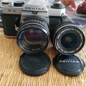 pentax Kx 50mm f1.4 28mm f3.5