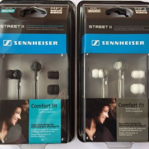 Sennheiser CX200 Street II Stereo In-Ear  αχρισημοποίητο στην κούτα του.