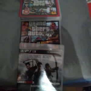 3 ps3 παιχνίδια