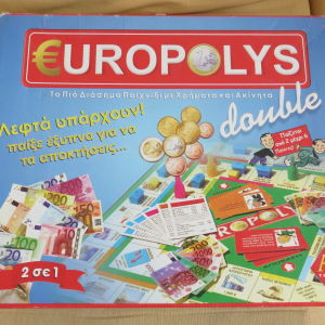 Europolis επιτραπεζιο παιχνιδι