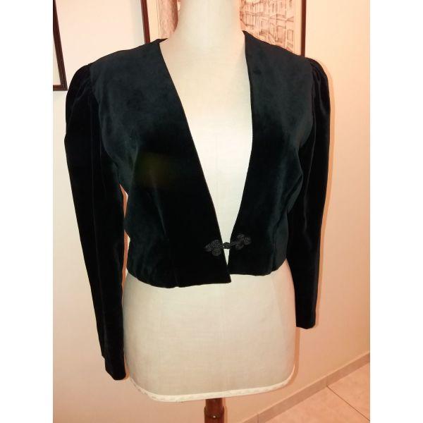 κοντό σακάκι βελούδο μαύρο. - αγγελίες σε Ζωγράφου - Vendora.gr 001770f62bb
