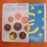Blister κερμάτων Ευρώ 2002
