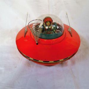 Τσίγκινο γιαπωνέζικο spaceship μπαταρίας της KO (YOSHIYA) της δεκαετίας του ΄50.