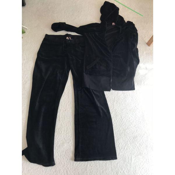 a3e6c94575c7 Juicy couture μαύρο σετ φόρμας xl - € 65 - Vendora.gr