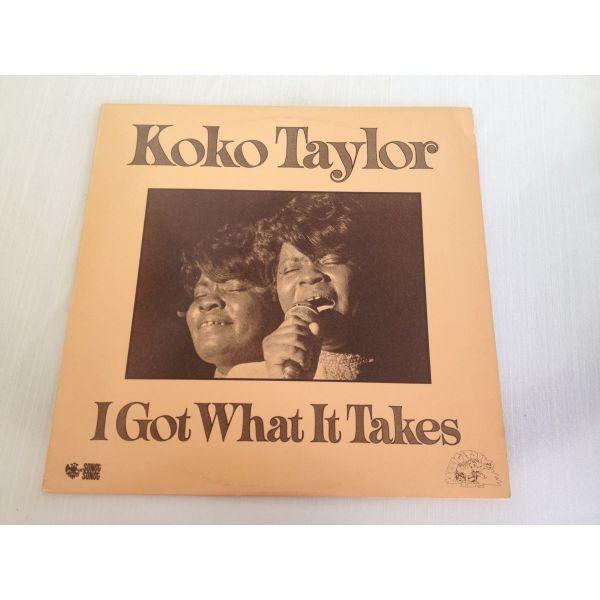 Koko Taylor - I Got What It Takes (LP, Album) diskos viniliou