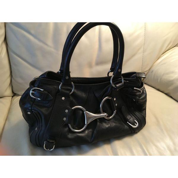 f2f6e6b368 Δερμάτινη τσάντα KAREN MILLEN μαύρη - € 80 - Vendora.gr