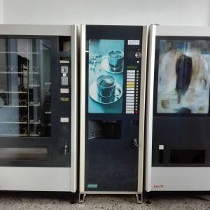 Πωλείται Αυτόματοι Πωλητές Αναψυκτικών νερού-καφέ ροφημάτων- σνακ
