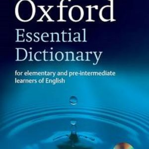 λεξικο	Oxford Essential Dictionary, New Edition with CD-ROM