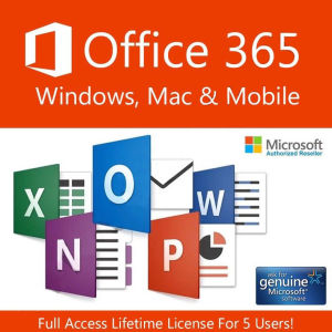 Microsoft Office 365 Pro Plus - 5 άδειες