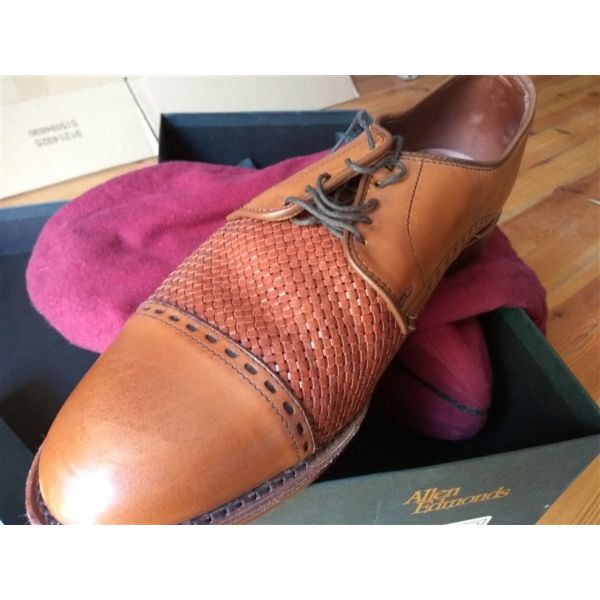 andrika papoutsia Allen Edmonds Walnut Weave No 10.5. Ανδρικά παπουτσια ... 365fa7661ec