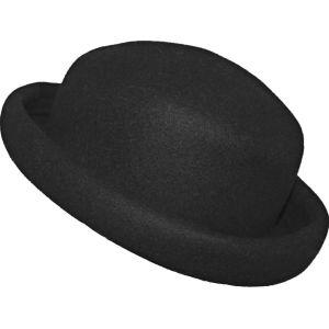Καπέλο Ιταλικό Μαύρο Ολόμαλλο - Άριστη Κατάσταση
