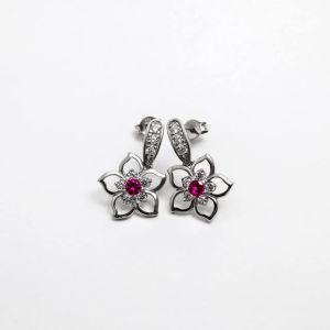 Σκουλαρίκια ''Λουλούδι''
