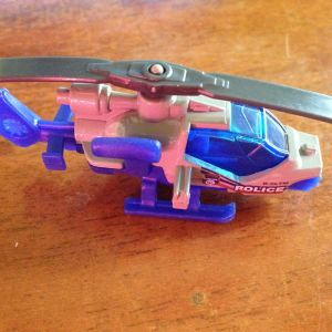 Matchbox Police Mission Helicopter