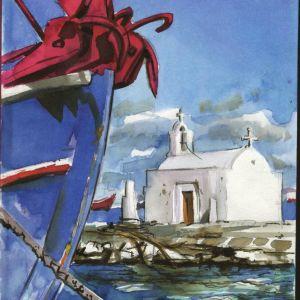 ζωγραφος με πλουσιο καλλιτεχνικο εργο αναλαμβανει τοιχογραφιες , εικονογραφησεις , σκηνικα