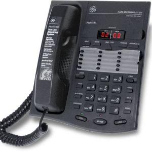 Τηλέφωνο GE 2-9975 2 γραμμών με ενσωματωμένο τηλεφωνητή