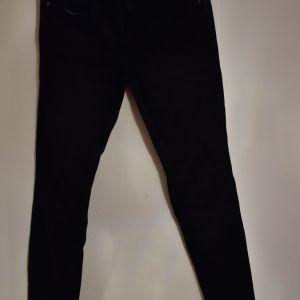 skinny μαύρο τζιν παντελόνι Zara