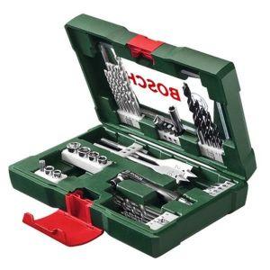 Σετ Κασετίνα Τρυπάνια Και Καρυδάκια 41 Τεμαχίων Bosch - 2607017305