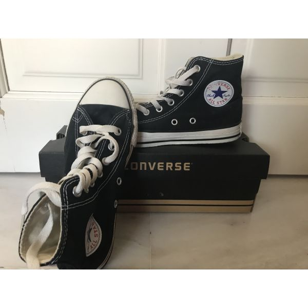 2ccc16902e7 CONVERSE παπούτσια μαύρα ψηλά - αγγελίες σε Θεσσαλονίκη - Vendora.gr