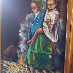 δυο ομορφα καδρα ζωγραφικης