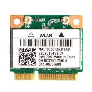 Intel Qualcomm Atheros QCWB335 Wifi Mini Wireless Card CN-0C3Y4J
