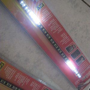 LED TAINIA 30cm ΑΣΠΡΗ με32 λεντακια (KIT)