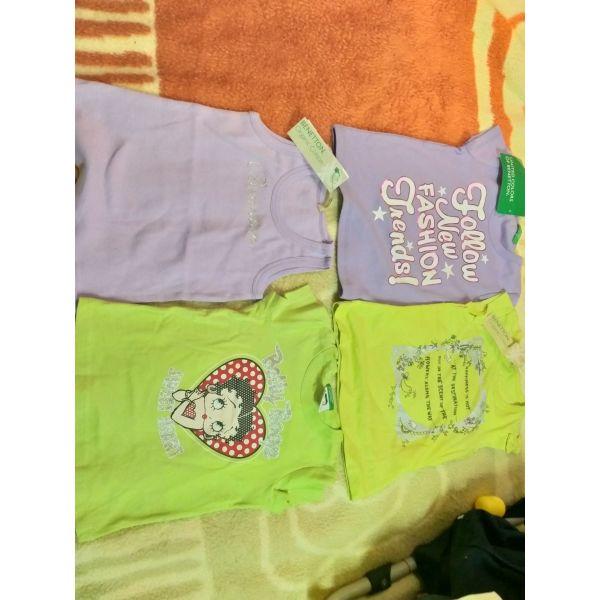 9ff46078252 4 μπλούζες benetton καινούριες - αγγελίες σε Athens - Vendora.gr