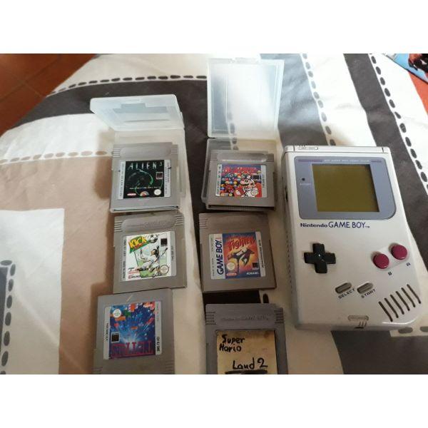 Vintage Game boy me kasetes