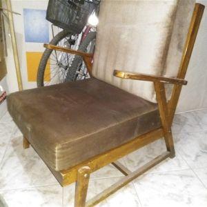 Πολυθρόνες ξύλινες αντίκες