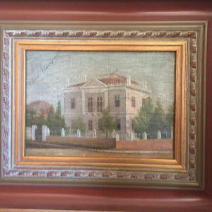 Παλαιός πίνακας με υπέροχη κορνίζα