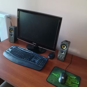 ASUS PC WITH SAMSUNG 24 INCH