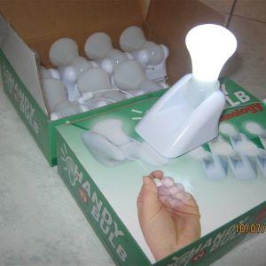 Σετ 4 τεμάχια ασύρματη - φορητή λάμπα LED μπαταρίας αυτόνομη