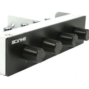 Ελεγκτής 4 ανεμιστήρων 3,5-Scythe Kaze Q 3,5 Inch Fan Controller