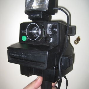 Polaroid 2000 Φωτογραφικη + φλας argus