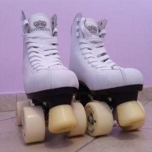 Πατίνια 80s style (λευκά)
