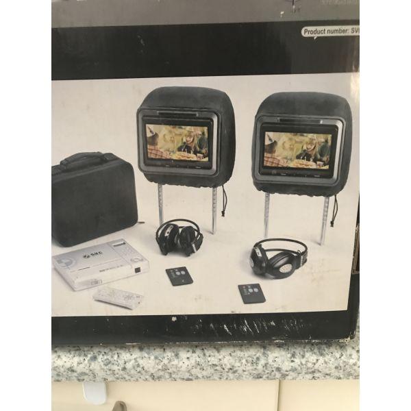 DVD Player me 2 othones gia aftokinito
