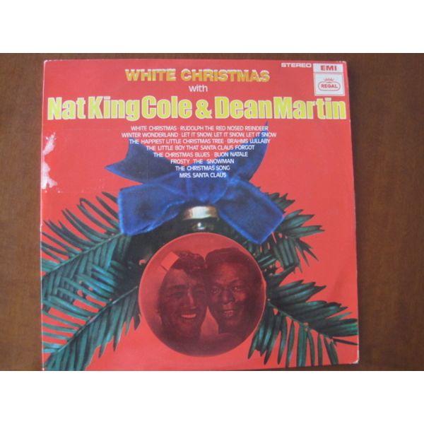 Dean Martin White Christmas.Nat King Cole Dean Martin White Christmas Lp