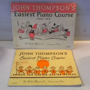 John Thompson's-Easiest Piano Course-One & Two