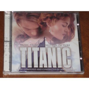 Titanic Soundtrack CD James Horner  A
