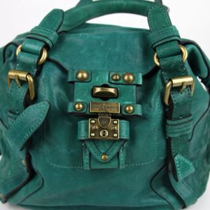 Τσάντα Juicy Couture Turquoise Polynesian Leather 100% δερμάτινη 46cc1f17743