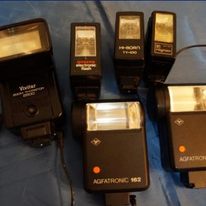 Flash αναλογικών μηχανών