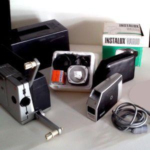 Vintage BAUER 8mm Film Projector T1 Super & BAUER Camera mini S