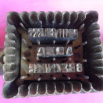 Τέσσερις εξαιρετικά σπάνιες χειροκίνητες σφραγίδες κοπής για την παρασκευή χειροποίητων μπισκότων.