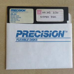 Παλια δισκετα MS DOS 3.30